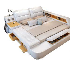 Zoom sur le lit meuble
